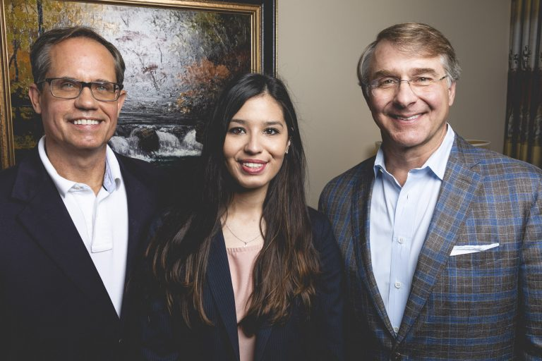 2020_TopDentists_Dr. Michael Vaughan, Dr. James Fleming, Dr. Megan Chavana